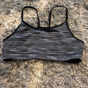 Black and white sports bra from old navy